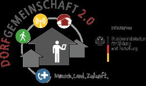 Forschungsprojekt Dorfgemeinschaft 2.0 Logo